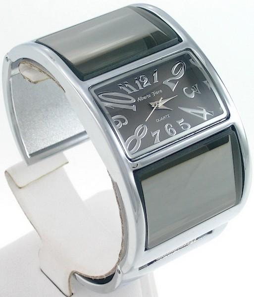 Montre femme alberto fioro bracelet acier poli miroir for Acier poli miroir